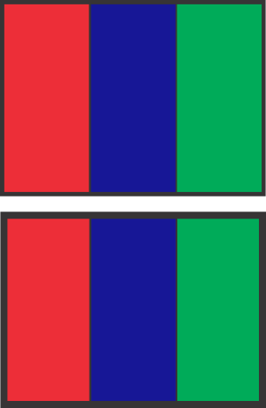 3 Color Double Sided